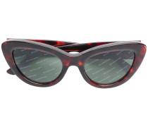 diagonal logo stripe sunglasses