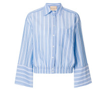 cropped classic shirt