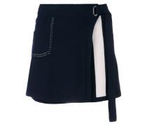 Cosmopolitan cashmere wrap skirt