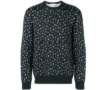 all-over print jumper