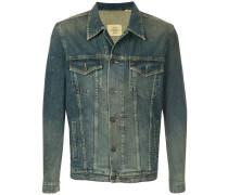 Jeansjacke mit Washed-Effekt