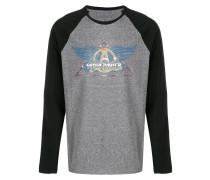 Pullover mit Kontrast-Print