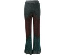 Gestrickte Hose mit Farbverlauf