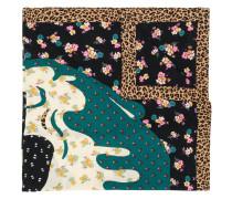 x Disney mixed print scarf
