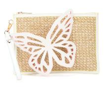 butterfly clutch bag