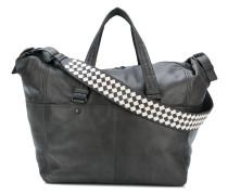 Reisetasche mit Intrecciato-Webmuster