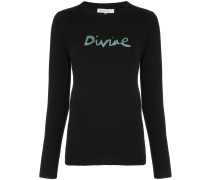"Pullover mit ""Divine""-Muster"