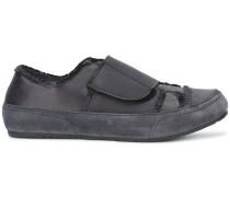 Wildleder-Sneakers mit Klettverschluss