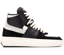 High-Top-Sneakers mit Colour-Block-Optik
