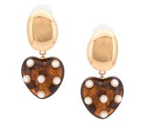 Ohrringe mit Perlenherzen