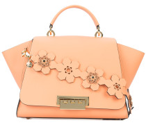 Eartha floral strap top handle bag