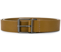 grained style belt