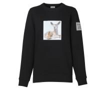 Oversized-Sweatshirt mit Reh-Print