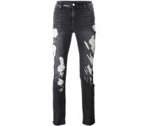 'Faded Destroy' Skinny-Jeans