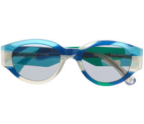 Ovale 'Drew Mama' Sonnenbrille