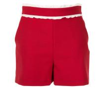 Shorts mit Rüschenborte