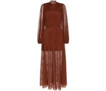 Semi-transparentes 'Picasso' Kleid