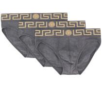 Slip-Set mit Greca-Muster