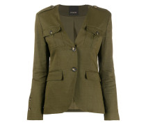 Blazer im Military-Look