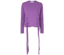 lace-up sides jumper