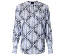 diamond pattern shirt