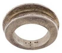 'Foldform Crescent' Ring