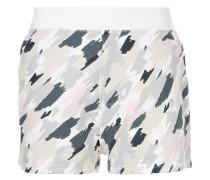 Kurze Shorts mit Camouflage-Print