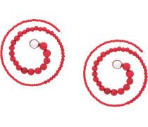 Spiralförmige Ohrringe