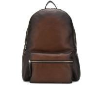 Rucksack mit Reißverschlusstasche