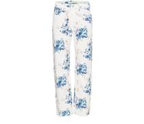X Browns Jeans mit Blumenmuster