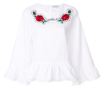 rose embroidery tunic