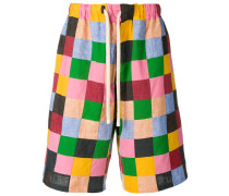 Shorts im Patchwork-Look