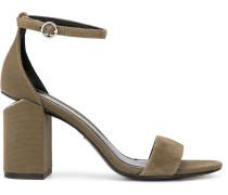 'Abby' Sandalen mit Blockabsatz