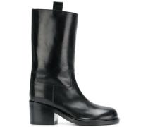 pull-on midi boots