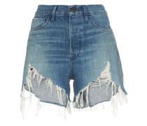 Ausgefranste 'Blake' Jeans-Shorts