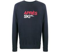 """Sweatshirt mit """"Après Ski""""-Print"""