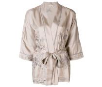 embroidered kimono blouse