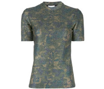 T-Shirt im Metallic-Look