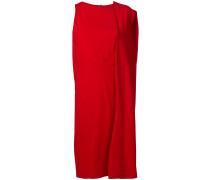 Kleid mit drapierter Schulter