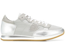 'Tropez' Sneakers im Metallic-Look