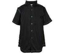 short-sleeve fitted shirt