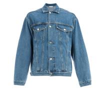 Jeansjacke mit bedrucktem Patch
