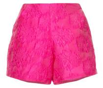 high waisted textured shorts