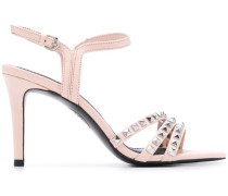 'Hello' Sandalen mit Nieten
