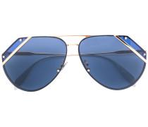 Pilotenbrille mit Cut-Outs