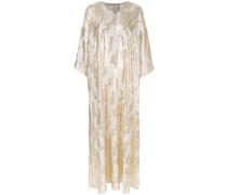Langes Jacquard-Kleid