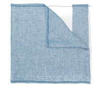 panelled frayed hem scarf