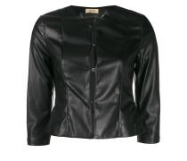 Taillierte Cropped-Jacke