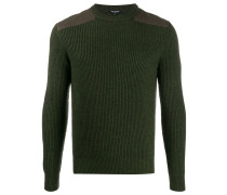 Pullover im Military-Look