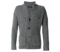 Sweatshirt mit Knopfverschluss